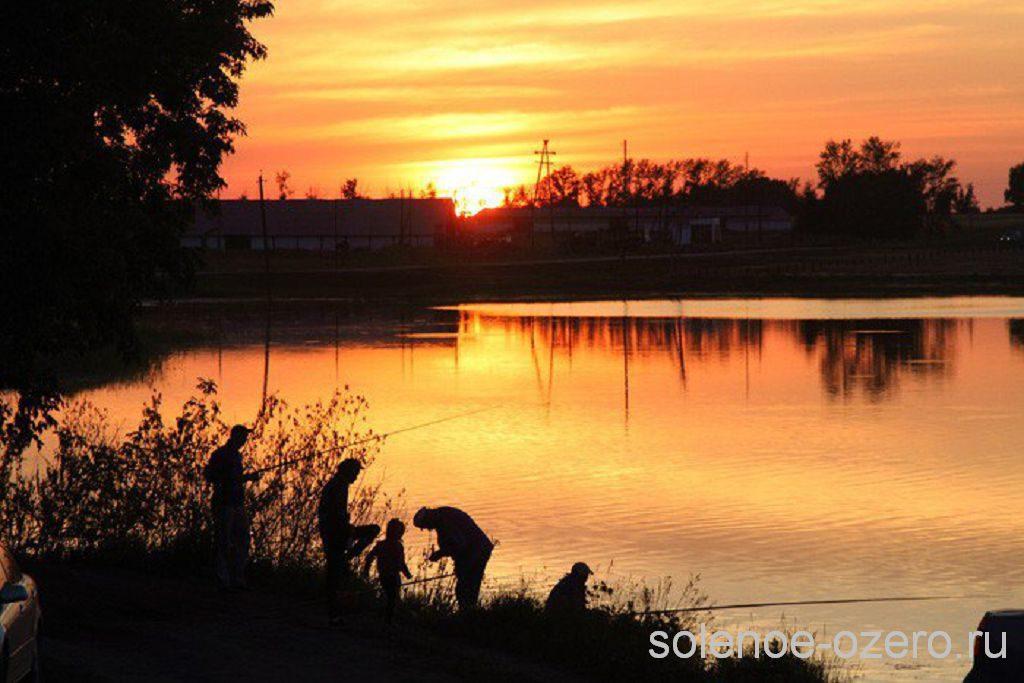 рыбалка на озере в завьялово