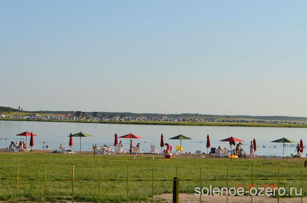 Отдых на соленом озере